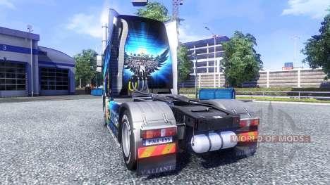 Couleur-Rockstar Energy Drink - sur tracteur Vol pour Euro Truck Simulator 2