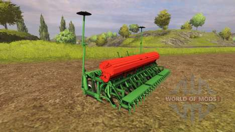 La combinaison avec un planteur cultivateur pour Farming Simulator 2013