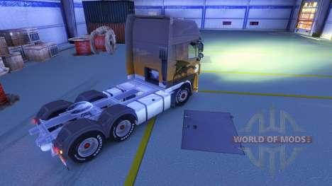 Lumière jaune des phares pour Euro Truck Simulator 2