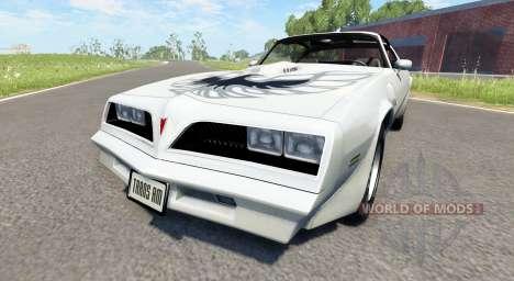 Pontiac Firebird Trans Am 1977 für BeamNG Drive