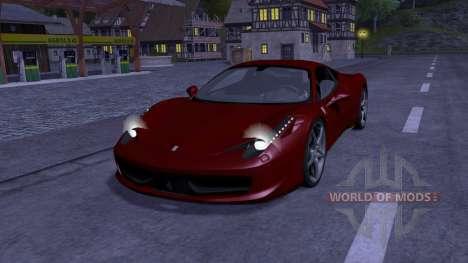 Ferrari 458 Italia für Farming Simulator 2013