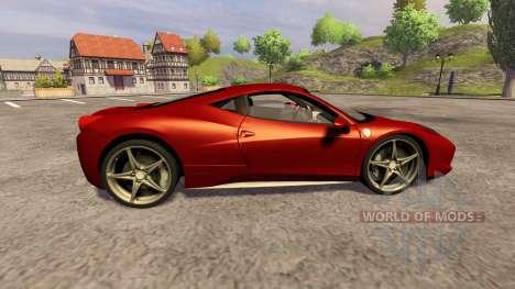 Ferrari 458 Italia pour Farming Simulator 2013