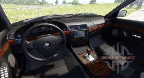 BMW 730i E38 1997 pour BeamNG Drive