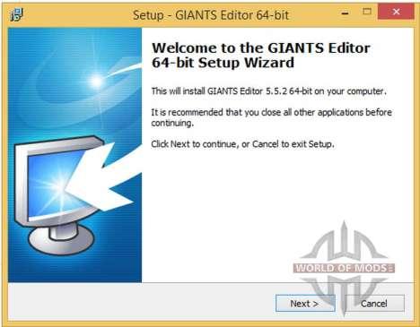 GIANTS Editor v5.5.2 64bit für Farming Simulator 2013