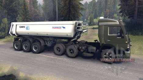 KamAZ-5410 v2.0 für Spin Tires