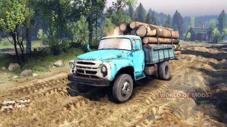ZIL 130 4x4 pour Spin Tires