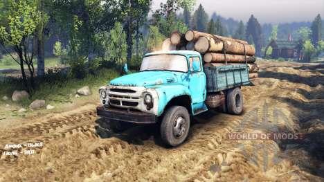 ZIL 130 4x4 für Spin Tires