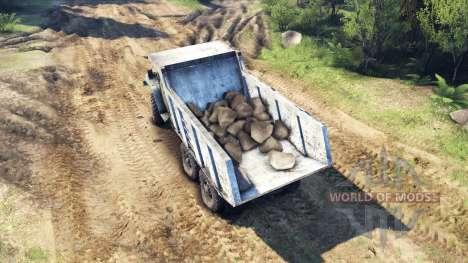 Der Körper des LKW auf Ural für Spin Tires