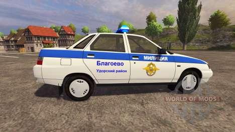 VAZ 2110 Polizei für Farming Simulator 2013