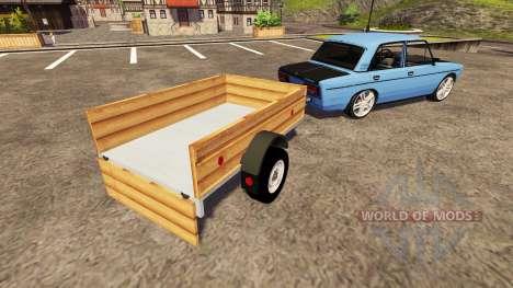 ВАЗ 2106 easy tuning für Farming Simulator 2013