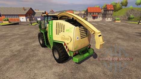 Krone BIG X1000 v2.0 pour Farming Simulator 2013