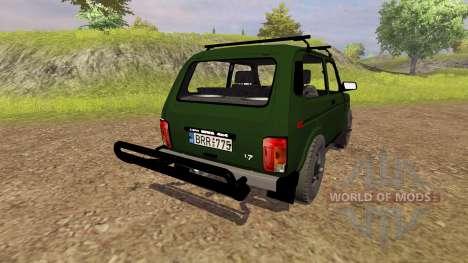 VAZ 2121 Niva für Farming Simulator 2013