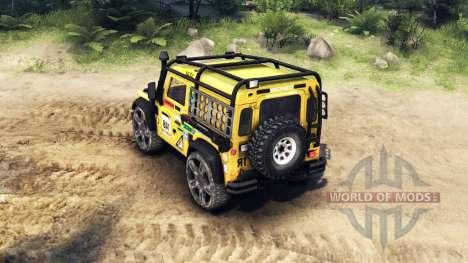 Land Rover Defender 90 v2.0 für Spin Tires
