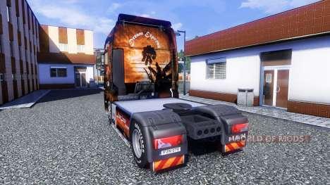 Couleur de Rêve Express - camion MAN TGX pour Euro Truck Simulator 2