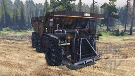 Dump truck 6x6 für Spin Tires