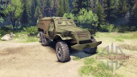 BTR 152 für Spin Tires