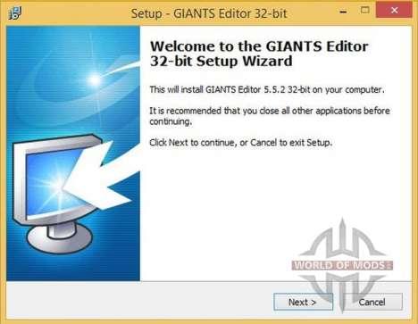 GIANTS Editor v5.5.2 32bit für Farming Simulator 2013