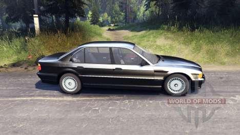 BMW 750Li E38 pour Spin Tires