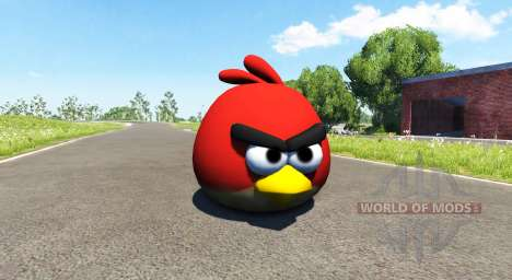 Oiseau rouge (red) Angly Oiseau pour BeamNG Drive