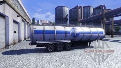 Pak livrées pour les remorques pour Euro Truck Simulator 2