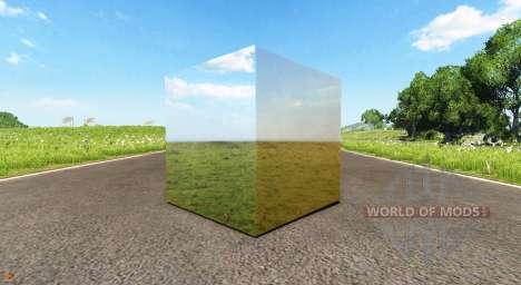 Cube miroir pour BeamNG Drive