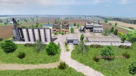 Carte SEC Borki agro pour Farming Simulator 2013