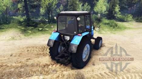 MTZ-1025 pour Spin Tires