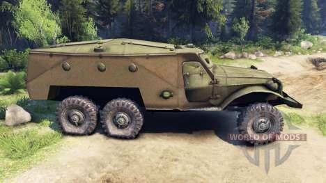 BTR-152 pour Spin Tires