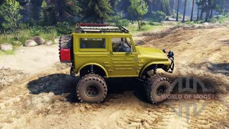 Suzuki Samurai LJ880 green für Spin Tires