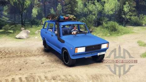 VAZ 2104 v2.0 für Spin Tires