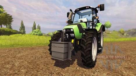 Contrairement à 900 kg pour Farming Simulator 2013