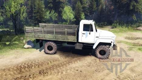 Le GAZ 3308 Sadko pour Spin Tires