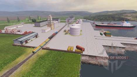 Lage Samara-Wolga für Farming Simulator 2013
