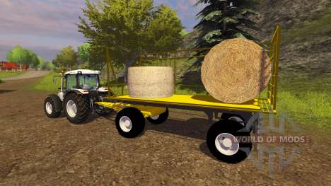 Gelb-trailer für Farming Simulator 2013
