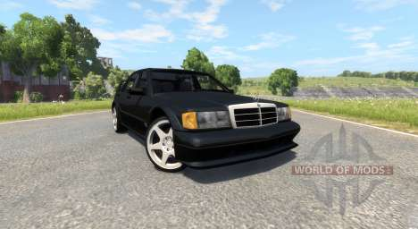 Mercedes-Benz 190E Evolution II 2.5 1990 für BeamNG Drive