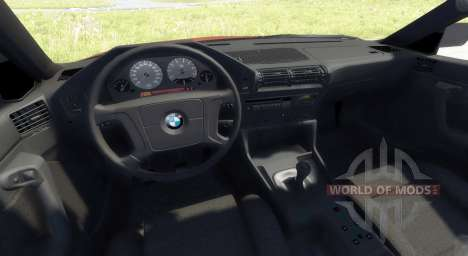 BMW 525 E34 pour BeamNG Drive
