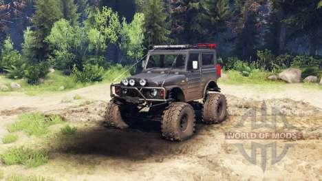 Suzuki Samurai LJ880 dirty black für Spin Tires