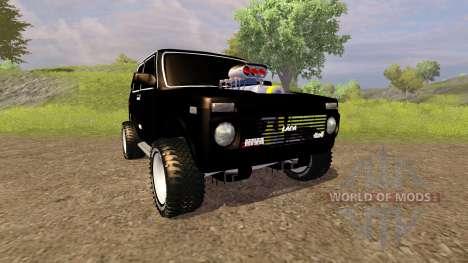Les VASES Niva 2121 Monstre pour Farming Simulator 2013