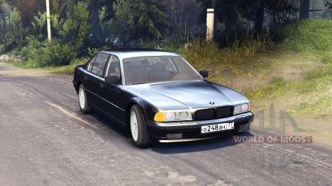 BMW 750Li E38 für Spin Tires