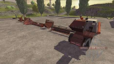 СК 5М 1 Hива für Farming Simulator 2013