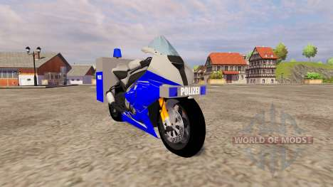 BMW Polizei pour Farming Simulator 2013