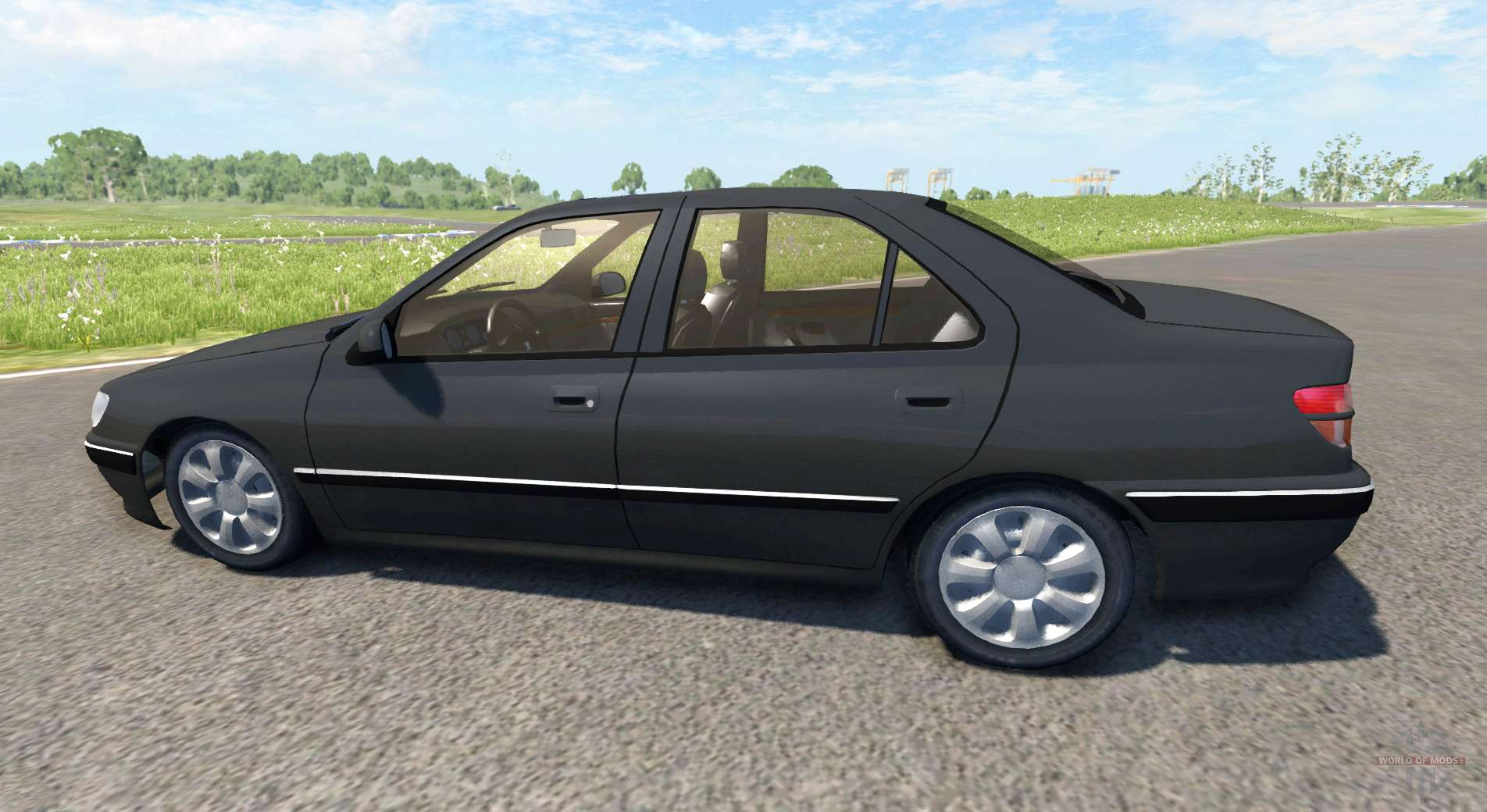 peugeot 406 pour beamng drive. Black Bedroom Furniture Sets. Home Design Ideas