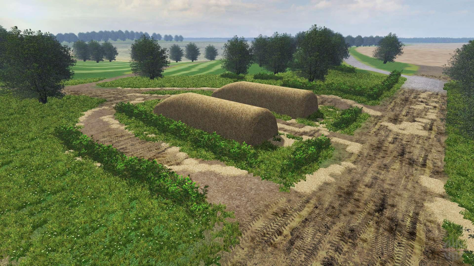 Russische map v2.0 für Farming Simulator 2013