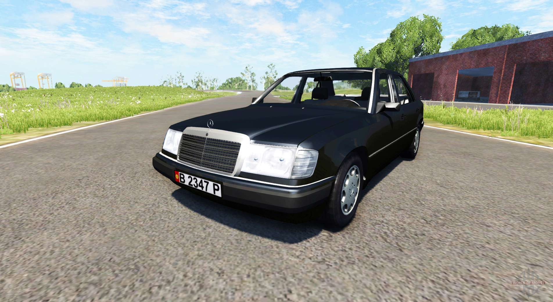 Mercedes benz 300e pour beamng drive for Mercedes benz b3 service