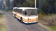 ЛАЗ-699Р orange-braune Streifen