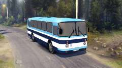 ЛАЗ-699Р blauen Streifen