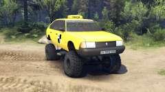 AZLK Moskwitsch 2141 taxi monster v1.1