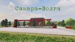 Lage Samara-Wolga