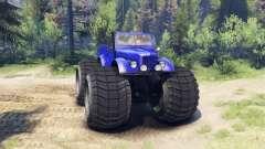 ГАЗ-69М Monstre Bleu