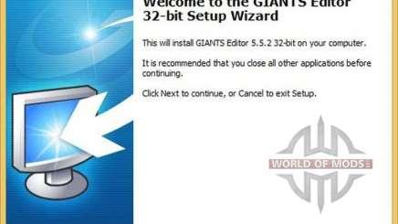 GIANTS Editor v5.5.2 32bit pour Farming Simulator 2013